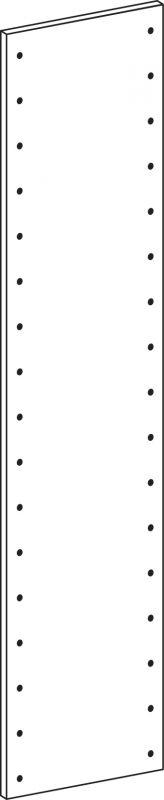 Voll-seiten-panele - Höhe 178.5 cm