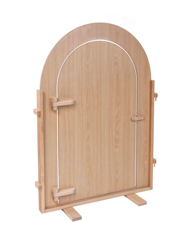 Stehlwand Tür