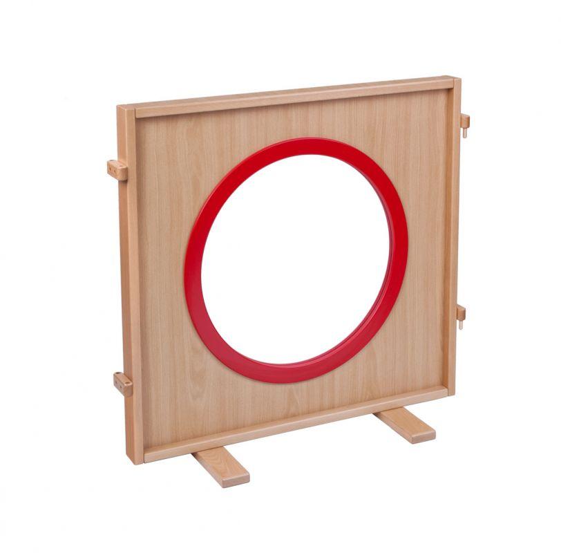Stellwand Fenster mit Plexiglas