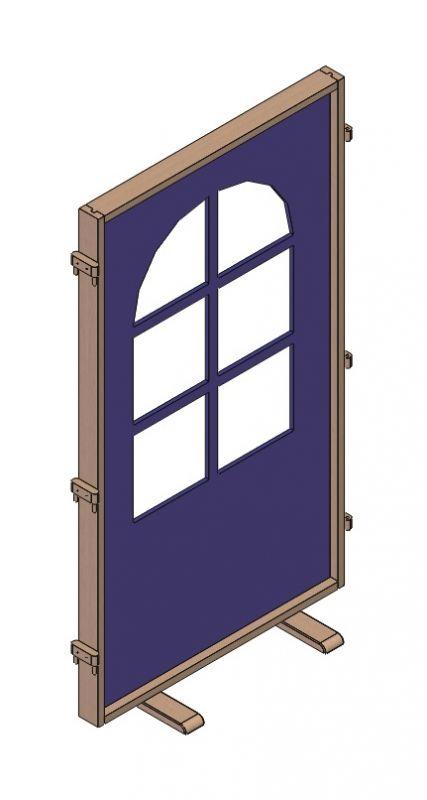 Stehlwand Fenster