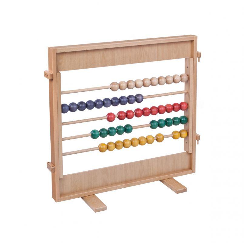 Stellwand Abacus, bunt