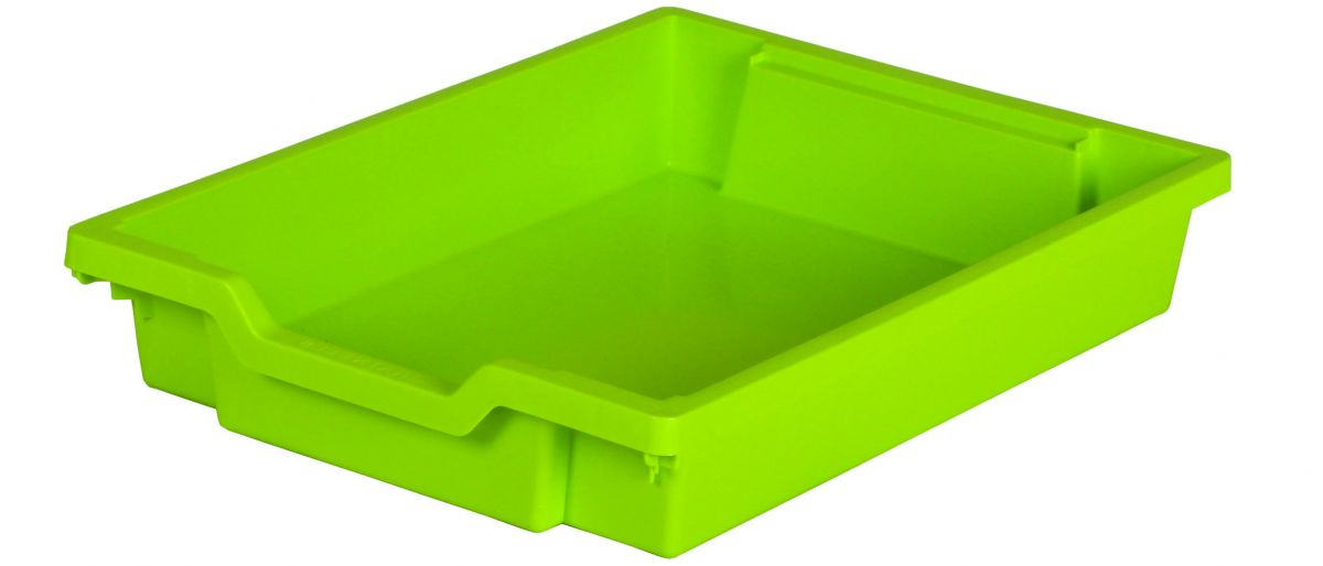 Plastik-Schubfach - Höhe 7,5 cm, hellgrün