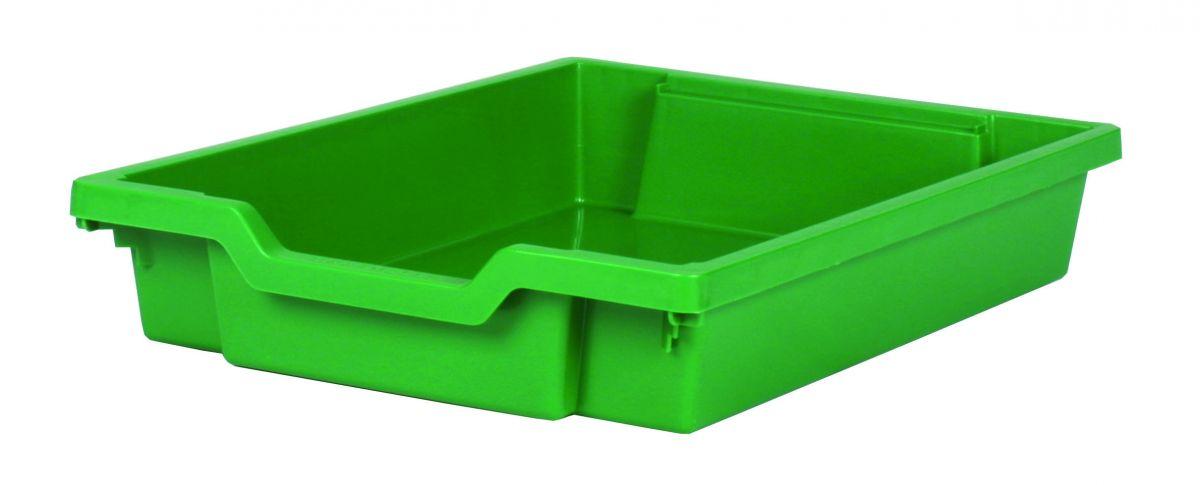 Plastik-Schubfach - Höhe 7,5 cm, grün