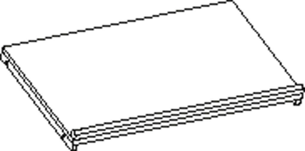 Feststellenboden 80 cm
