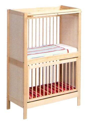 Kinderbett DUO LEDIKANT ( Stirnen mit Stecken )