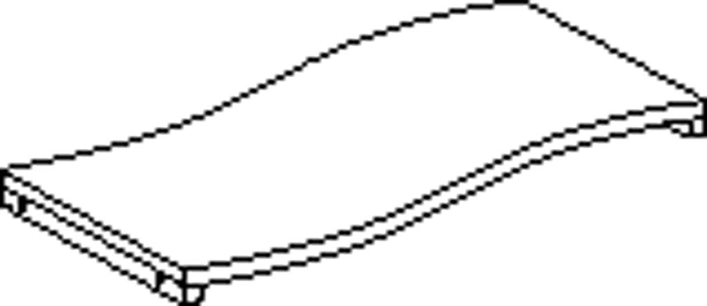 Feststelleboden geschw. links 80 cm