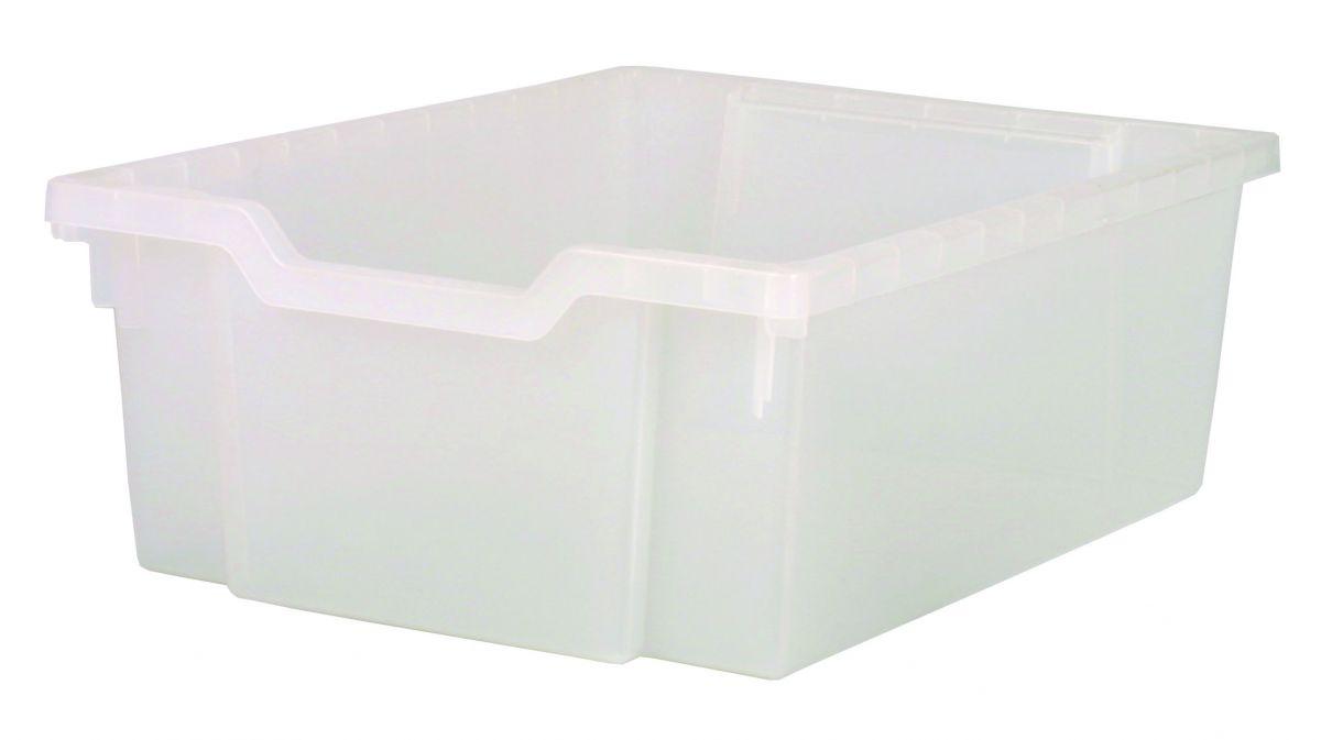 Plastik-box EXTRA DEEP - klar Gratnells