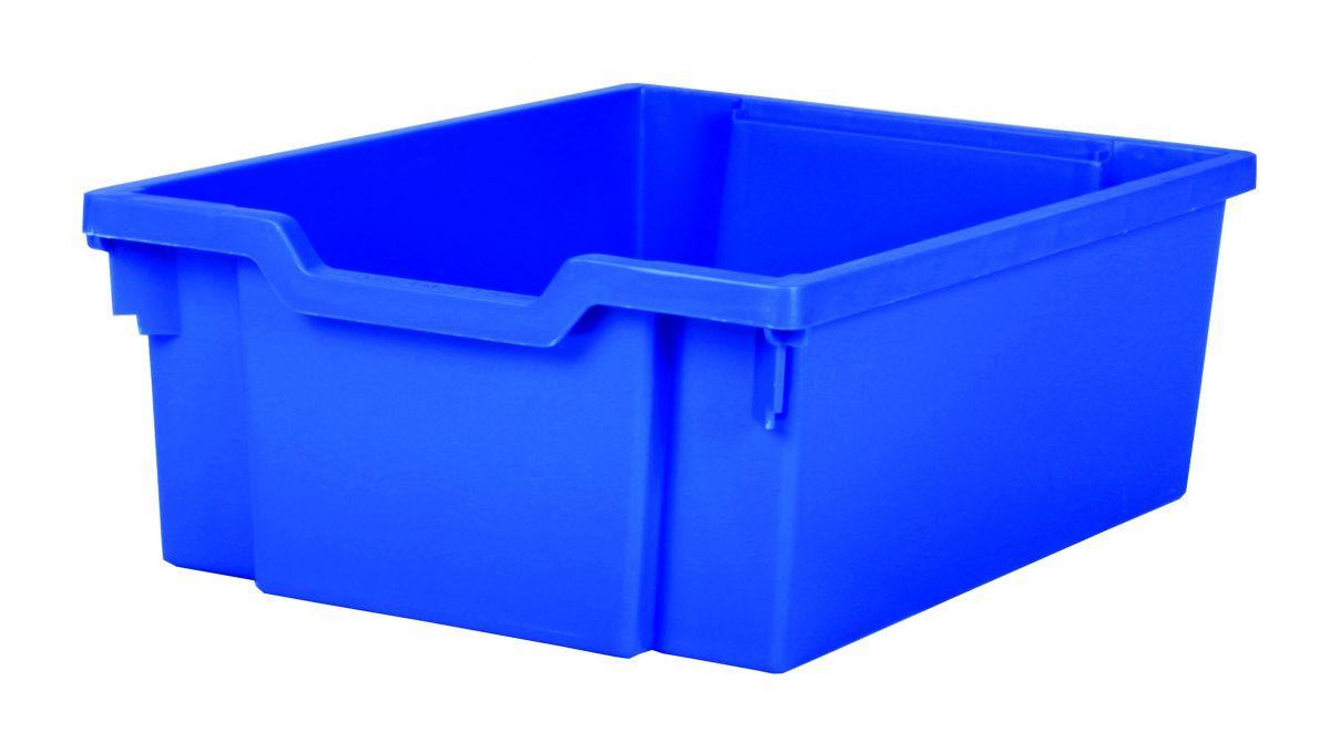 Plastik-box DOUBLE - blau Gratnells