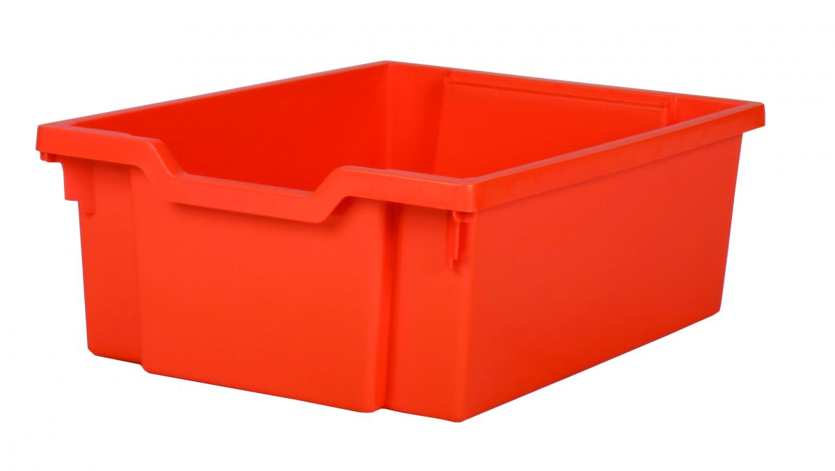 Plastik-boxe, Höhe 15 cm - orange