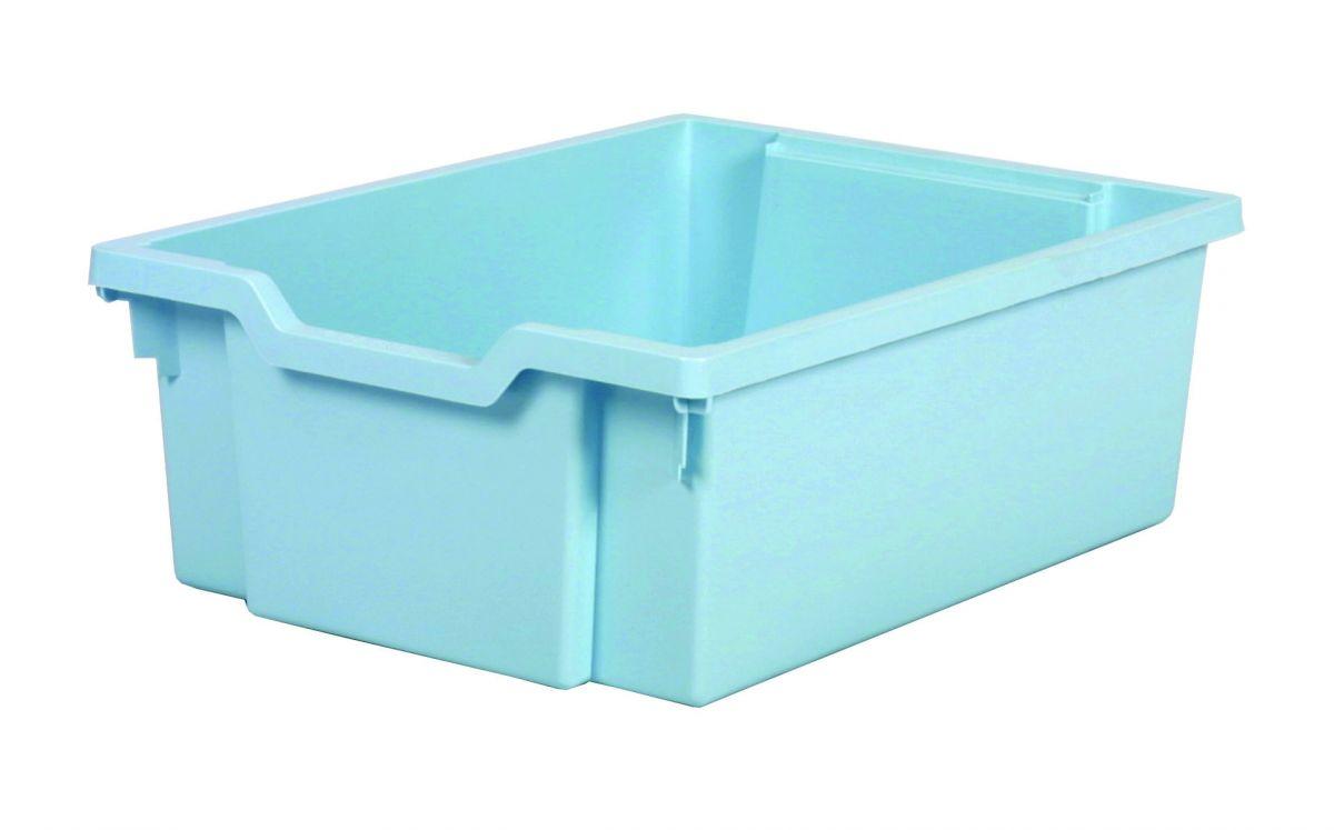 Plastik-boxe, Höhe 15 cm - hellblau