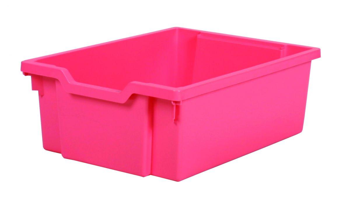 Plastik-boxe, Höhe 15 cm - rosa