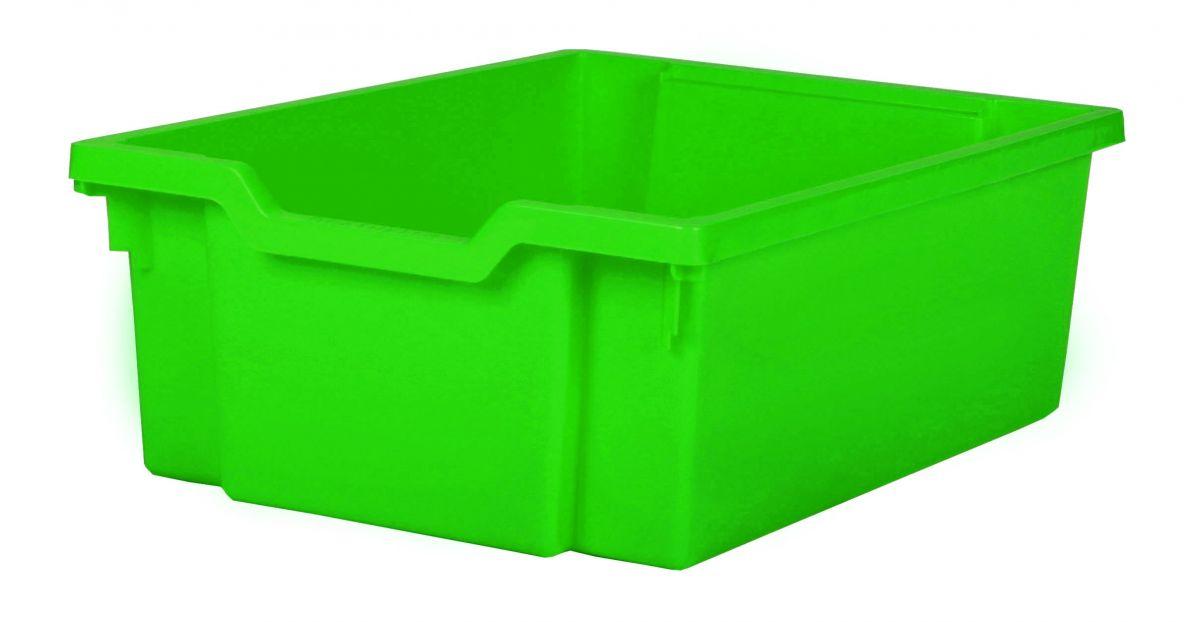 Plastik-boxe, Höhe 15 cm - grün