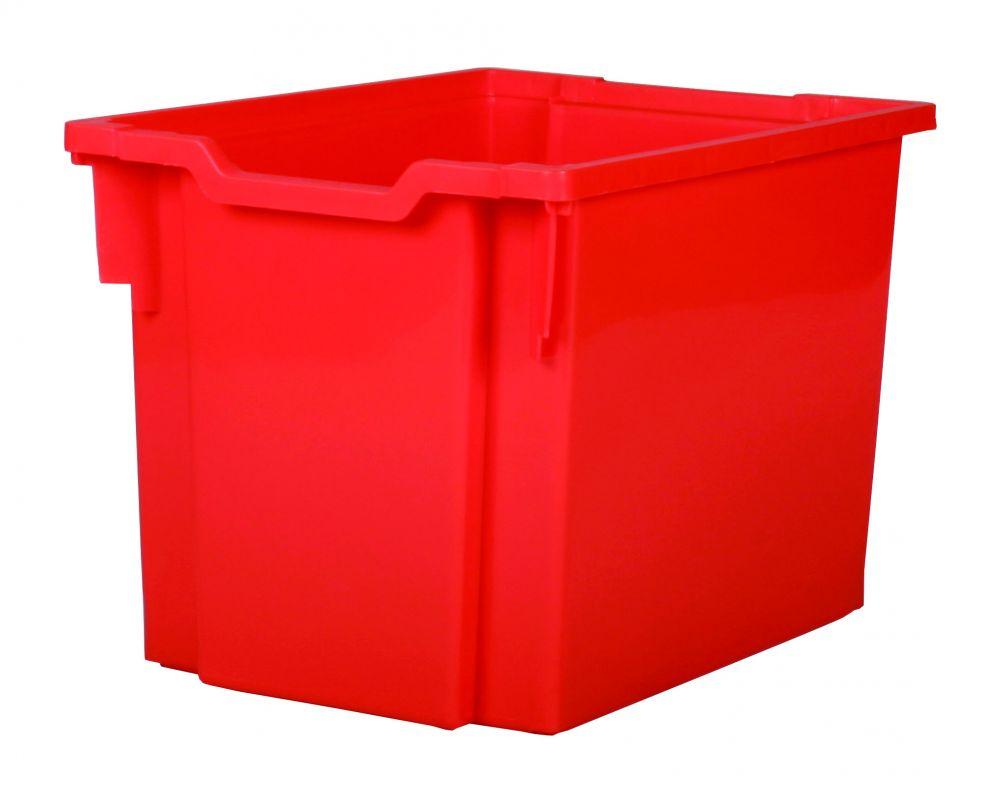 Plastik-boxe, Höhe 30 cm - rot