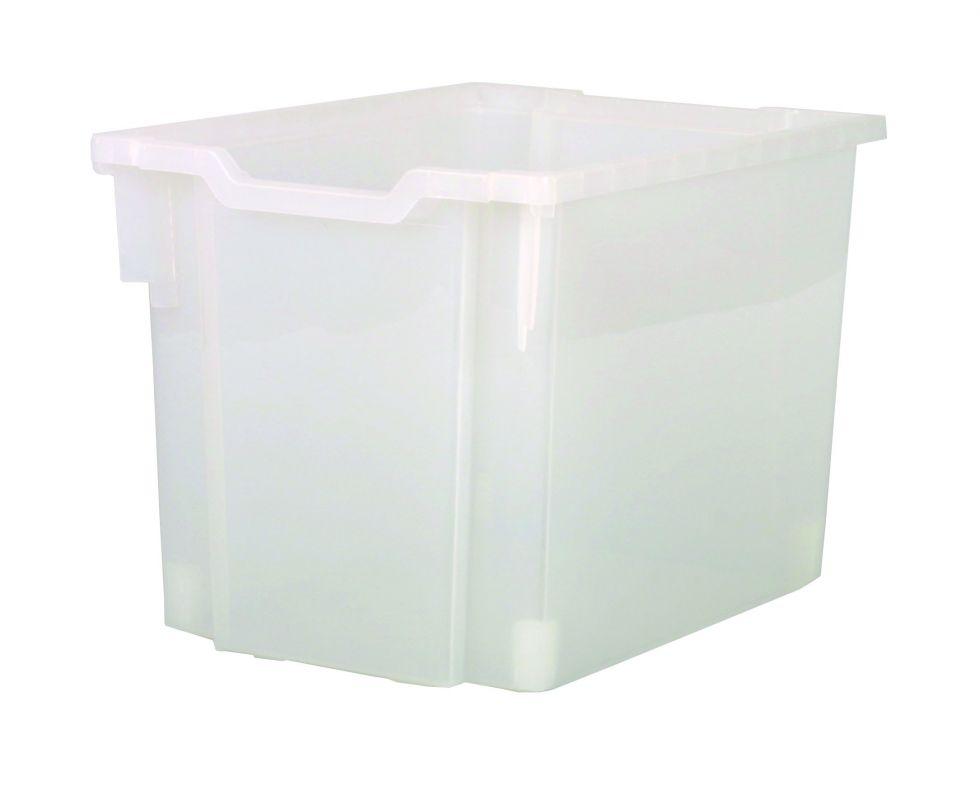 Plastik-boxe, Höhe 30 cm - klar