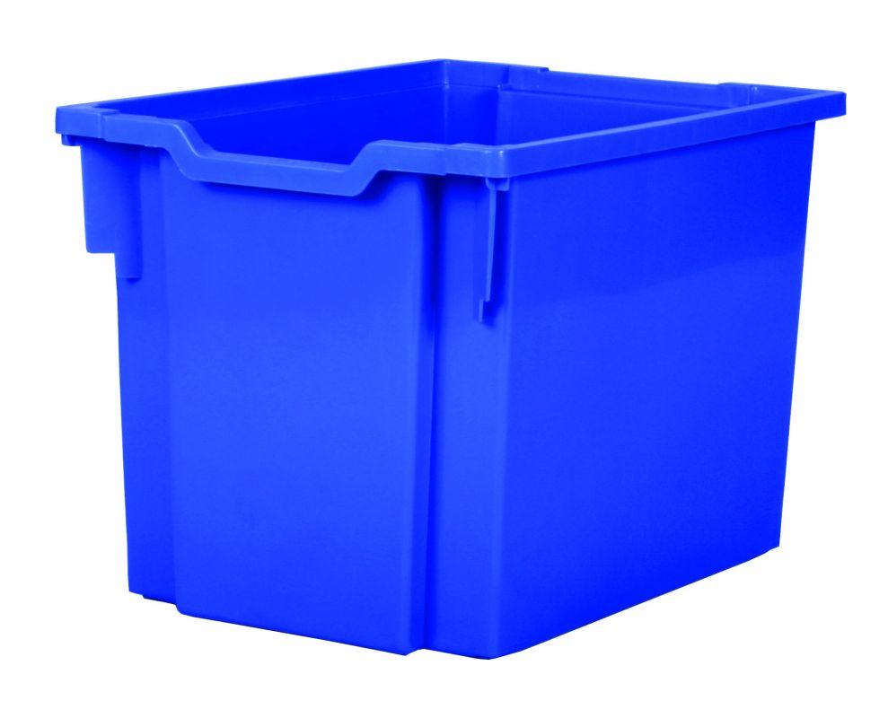 Plastik-boxe, Höhe 30 cm - blau