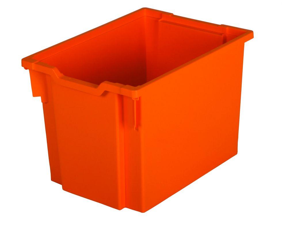 Plastik-boxe, Höhe 30 cm - orange