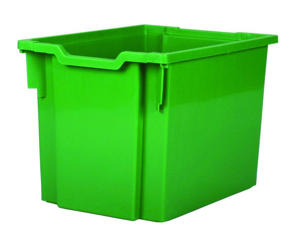 Plastik-boxe, Höhe 30 cm - grün