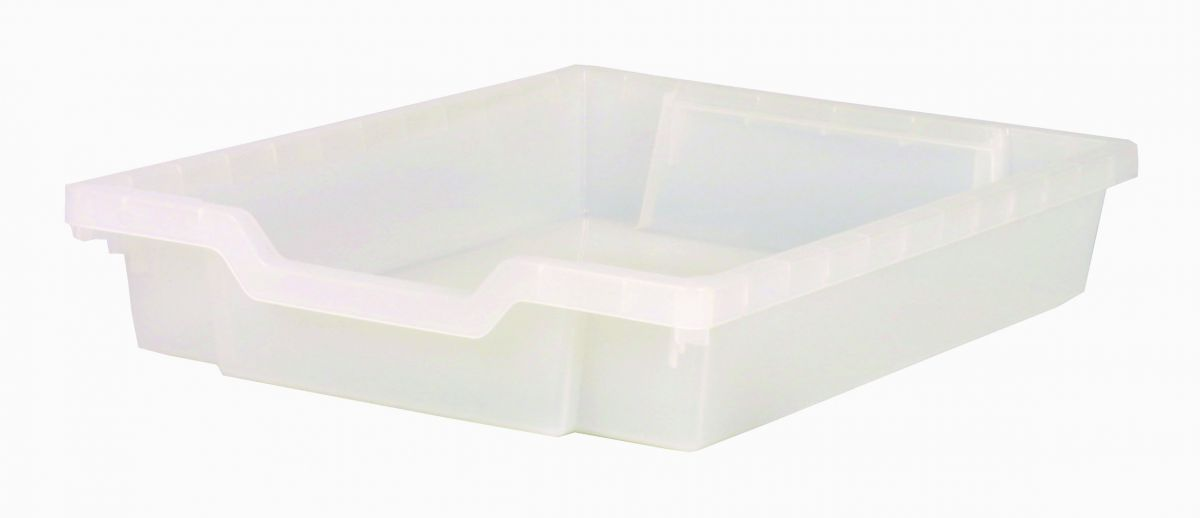 Plastik-Schubfach - Höhe 7,5 cm, klar
