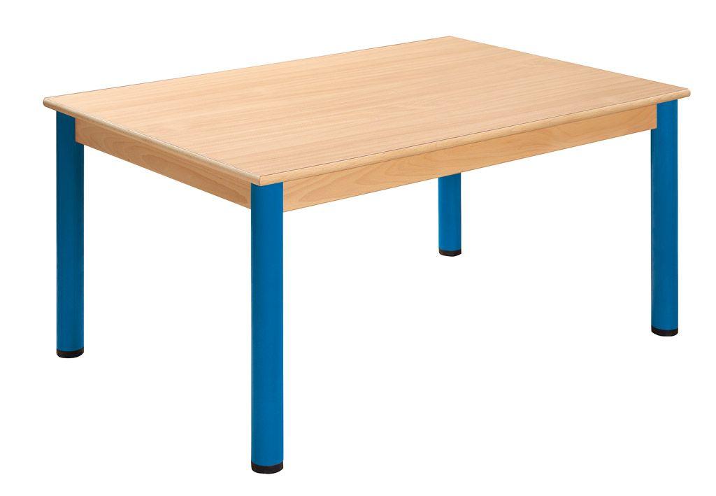 Tisch 120 x 80 cm mit Nivellierfüßen