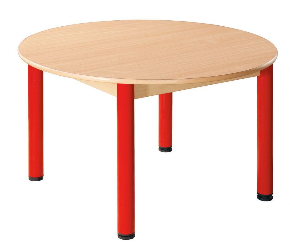 Kreistisch 100 cm mit Nivellierfüßen