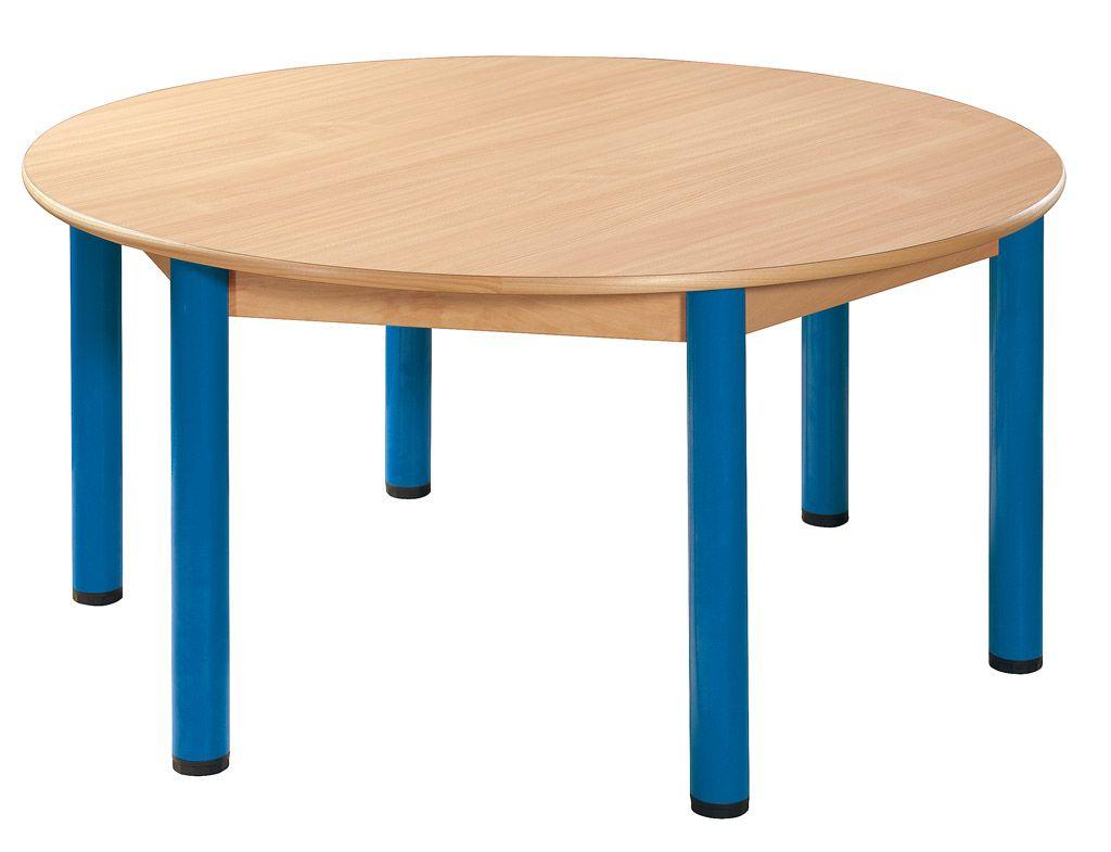 Kreistisch 120 cm mit Nivellierfüßen
