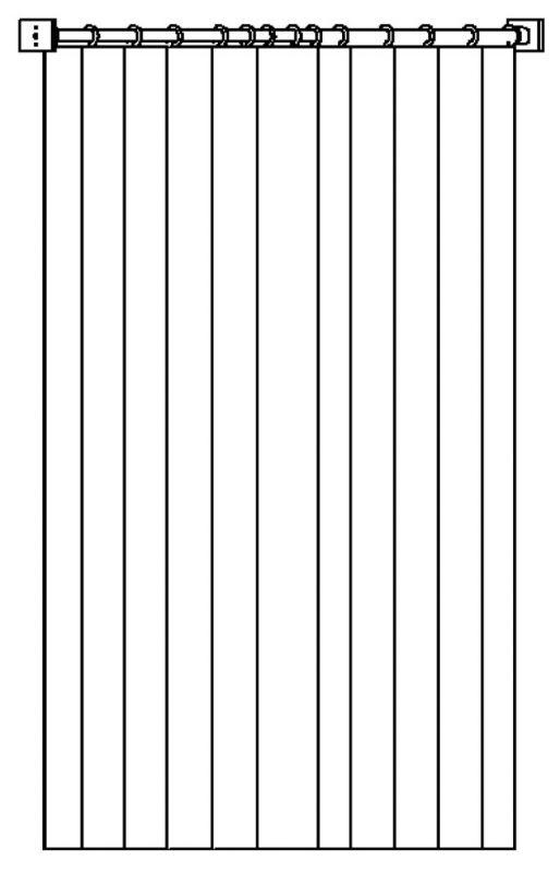 Langen Vorhang für MIKI PLUS