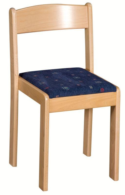 Stapelbar Stuhl mit Gepolsterte Sitz