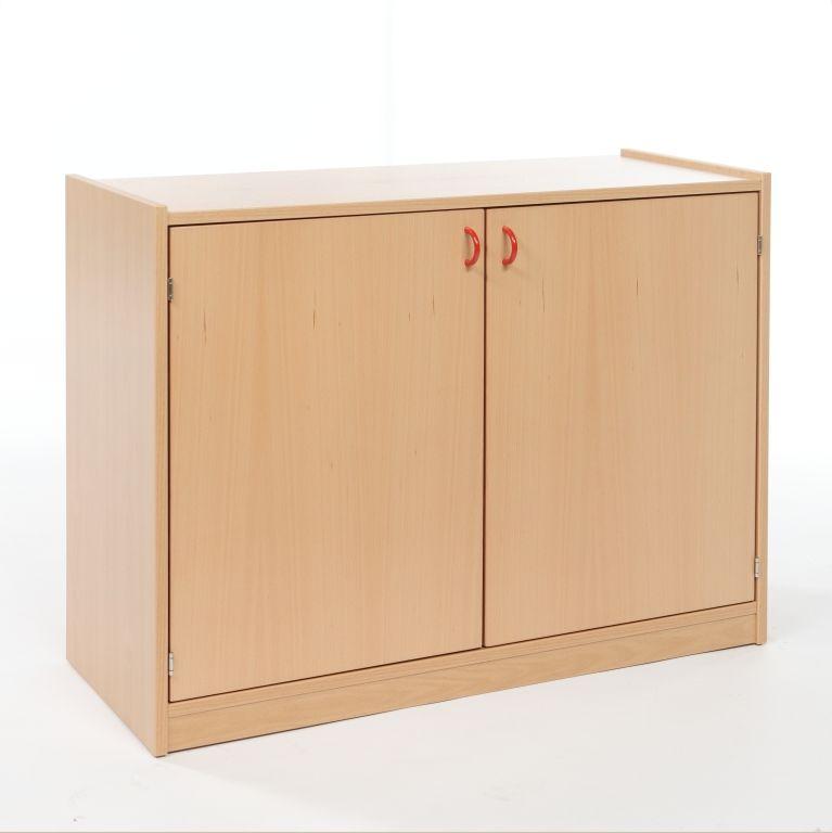 Korpusschrank mit 2 Türen und 2 Einlegeböden