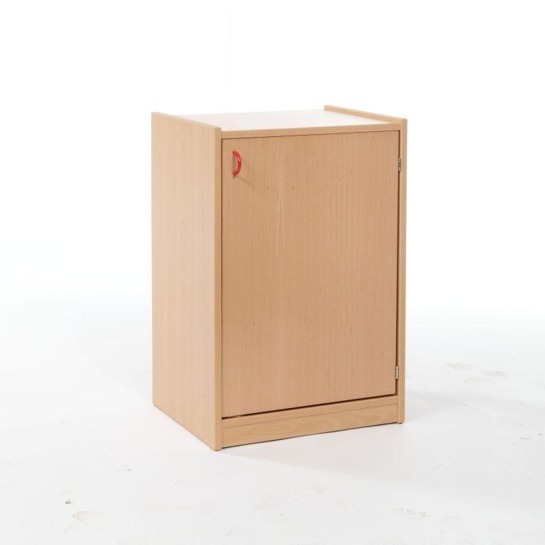 Korpusschrank mit 1 Tür, decor Buche