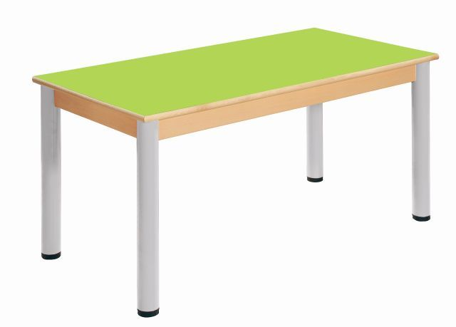 Tisch 120 x 60 cm / Höhenverstellbare Füße 40 - 58 cm