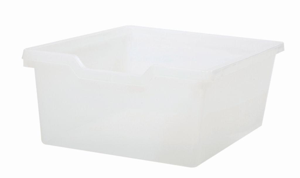 Plastik-box N2 DOUBLE - klar Gratnells
