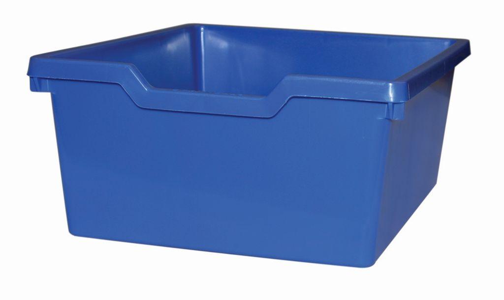 Plastik-box N2 DOUBLE - blau Gratnells