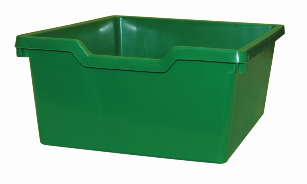 Plastik-box N2 DOUBLE - grün Gratnells