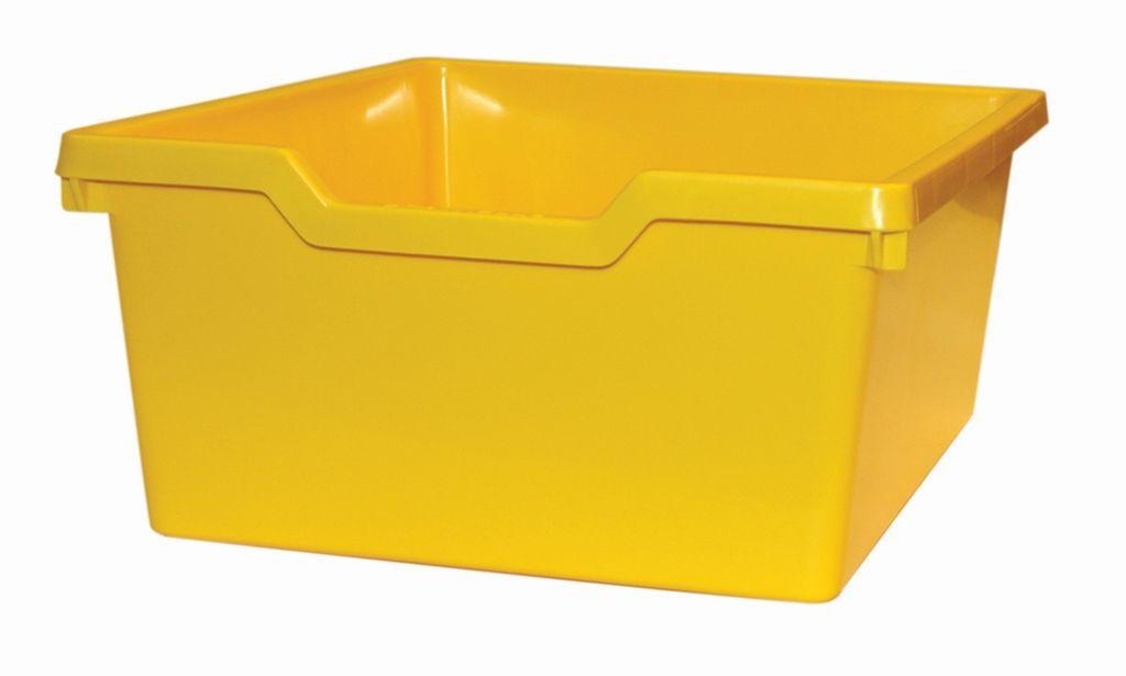 Plastik-box N2 DOUBLE - gelb Gratnells