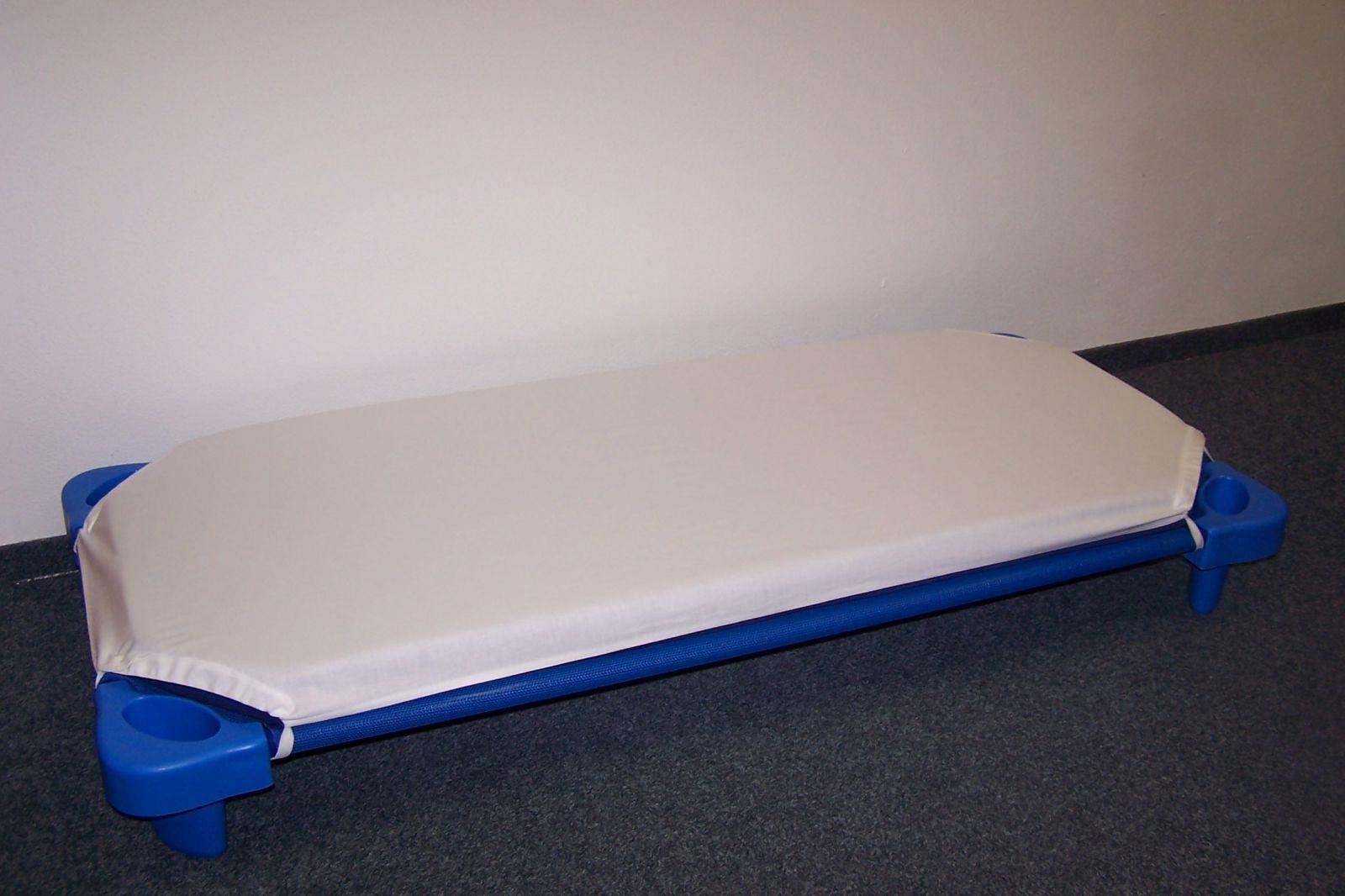 Baumwolle Blatt aus Kunststoff. Liege 21.019, WEISS