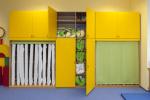 Schlafzimmer und Kinderbetten
