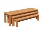 Set von 3 Bänke mit Formica Sitz