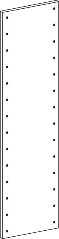 Voll-seiten-panele - Höhe 140 cm