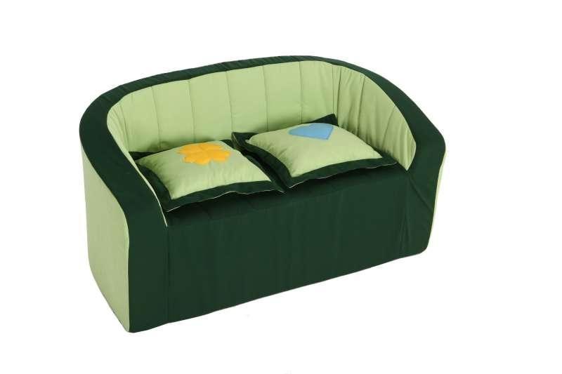 Doppel-Sessel / light grün