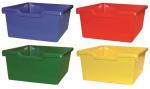 Farbenmix  - Korpusschrank mit 2 Einlegeböden und 9 Plastik-Kästen