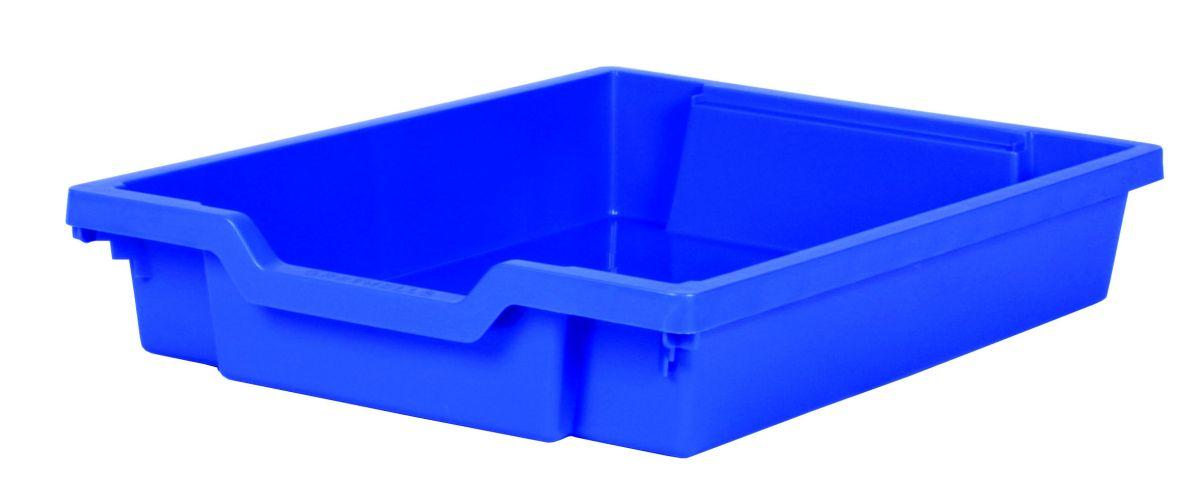Plastik-Schubfach - Höhe 7,5 cm, blau Gratnells