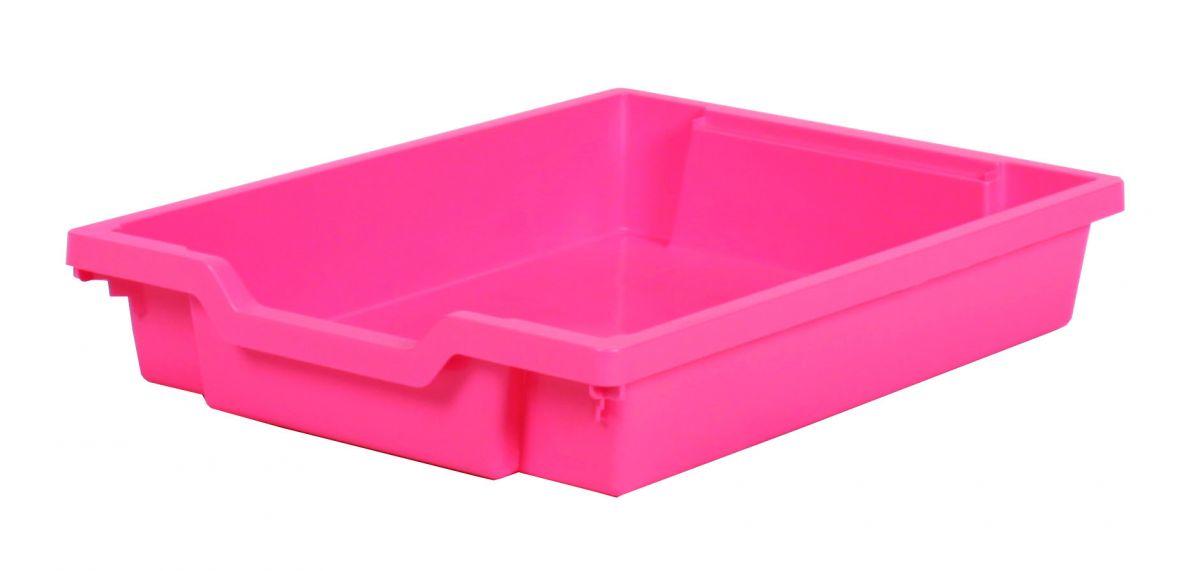 Plastik-Schubfach - Höhe 7,5 cm, rosa Gratnells
