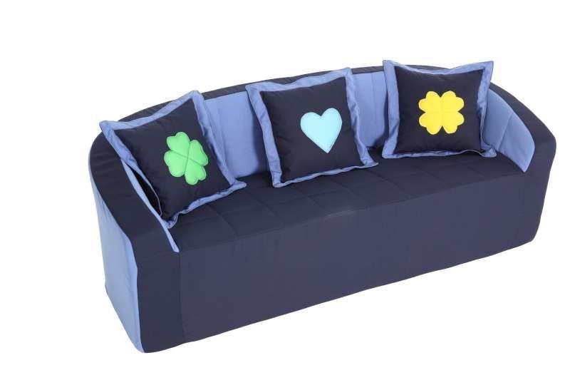 Sofa/ hellblau
