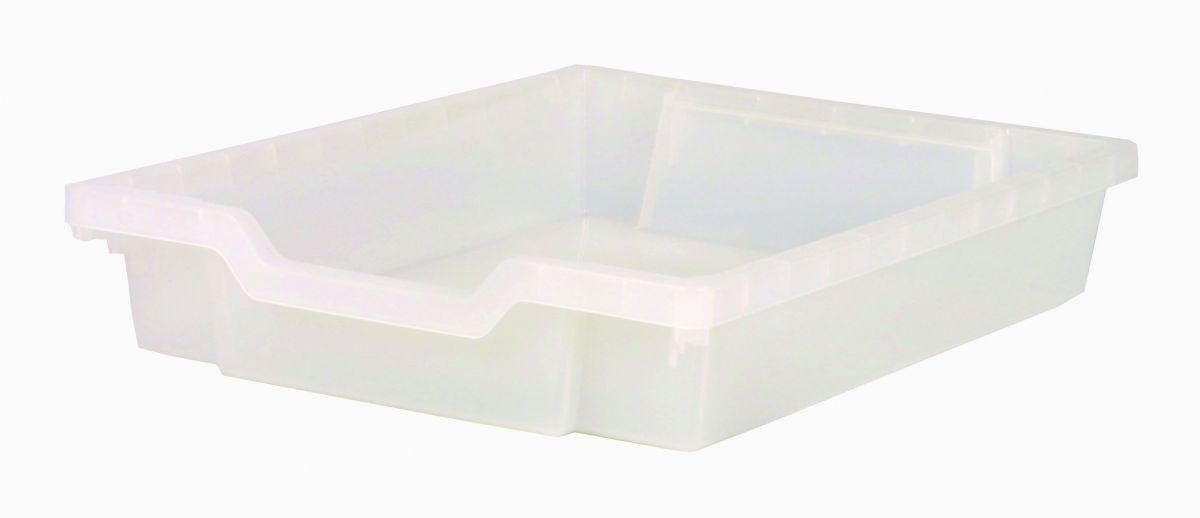 Plastik-Schubfach - Höhe 7,5 cm, klar Gratnells