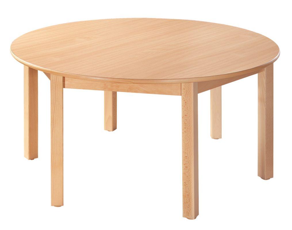 Kreistisch 120 cm mit 6 Beine