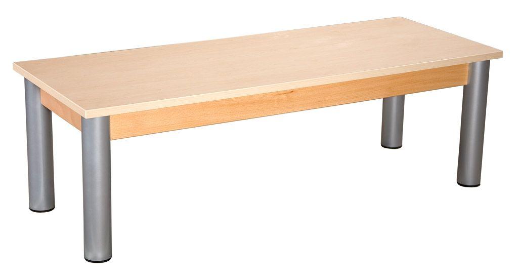 Multi-Tisch mit grauen Füßen