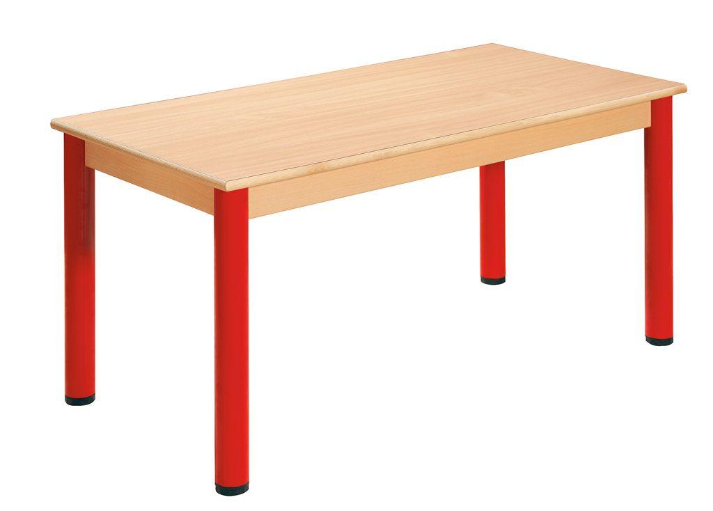 Tisch 120 x 60 cm mit Nivellierfüßen