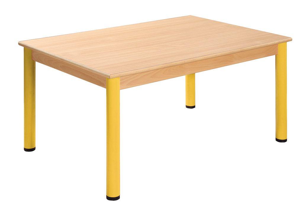 Tisch 180 x 60 cm mit Nivellierfüßen