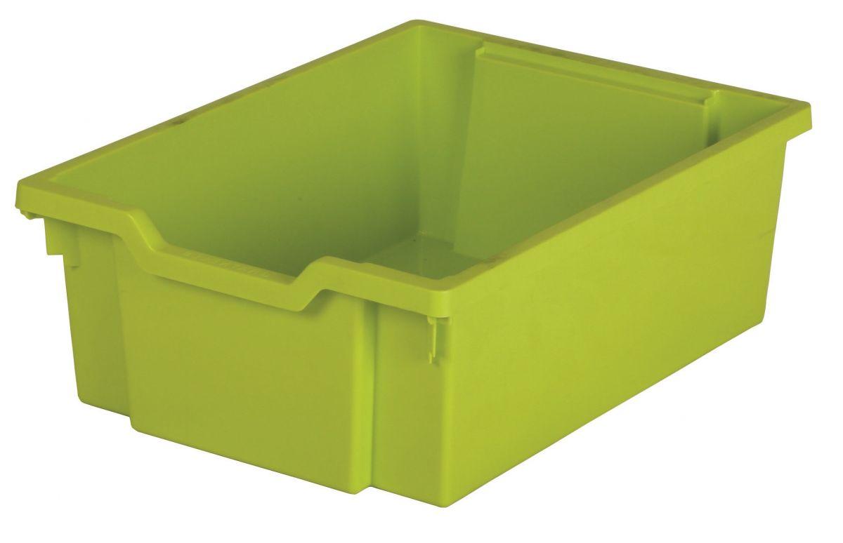 Plastik-box N2 DOUBLE - hellgrün Gratnells