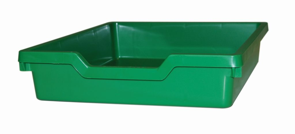 Plastik-boxe N1, Höhe - grün Gratnells